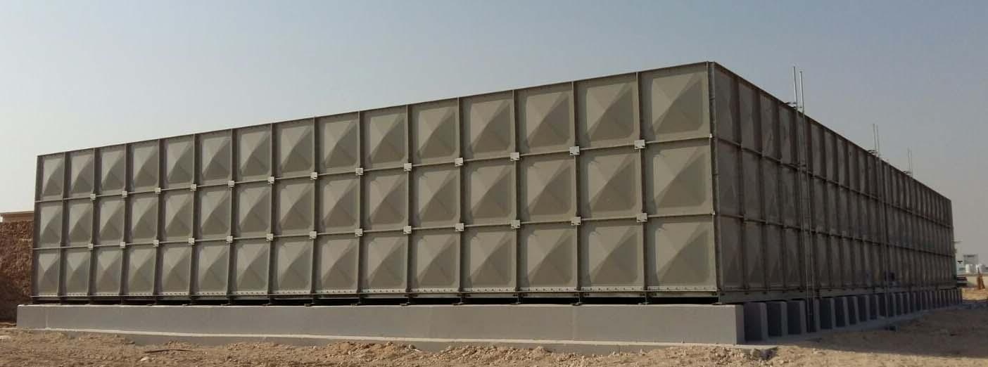 GRP FRP Sectional Water Tank